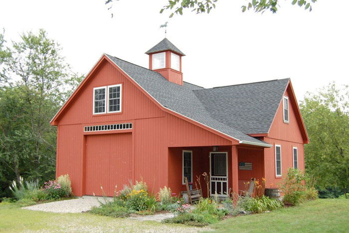 Sevigny custom barns post and beam construction specialists for Custom barn homes
